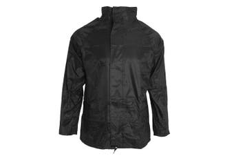 Arctic Storm Mens Lightweight Jacket (Black) (XL)