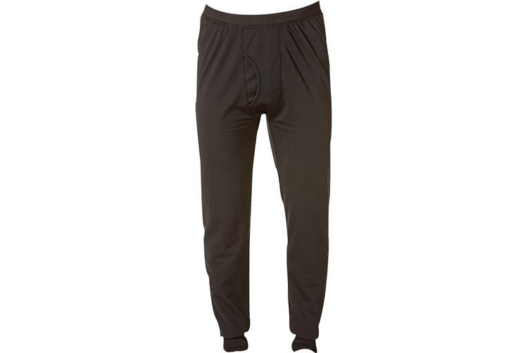 Caterpillar C1499011 Long John / Mens Thermal Underwear (Black) (Small)