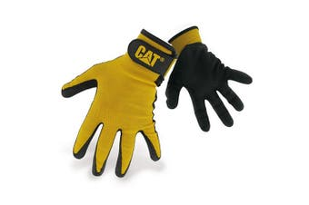 Caterpillar 17416 Nitrile Coated Nylon Shell Gloves / Mens Gloves / Gloves (Black) - UTFS1278