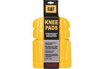 CAT CW-91 KNEE PADS / Mens Trousers (Yellow) (One Size)
