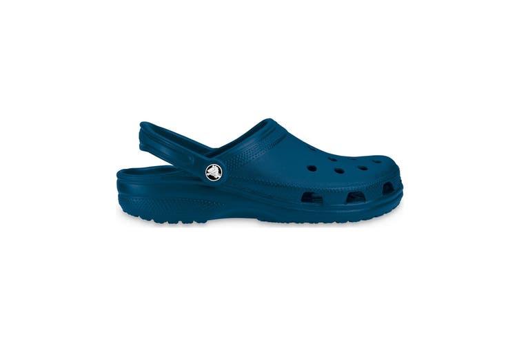 Crocs Adults Unisex 10001 Classic Cushioned Clogs (Navy) (8 UK)