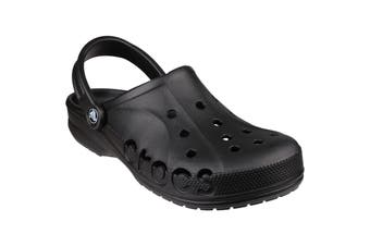 Crocs Unisex Baya Clogs / Beach Shoes (Black) (12 UK)