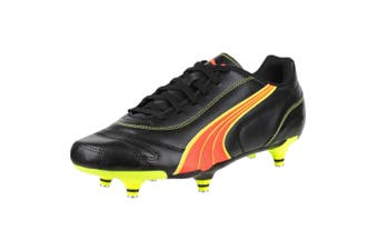 Puma Kratero Screw-in Boot / Mens Football Boots (Black/Pea) - UTFS2077