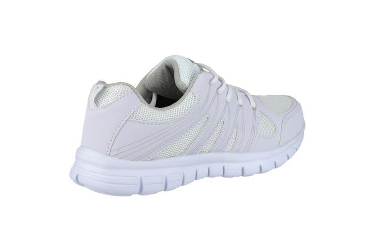 Mirak Milos Lace Mens Sports Shoe / Mens Trainers (White) (8 UK)