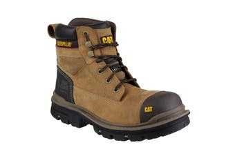 Caterpillar Gravel 6 Inch Mens Dark Beige Safety Boots (Beige) - UTFS2591