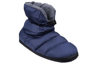 Cotswold Mens Camping Bootie Slippers (Navy) (Small)