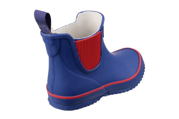 Cotswold Childrens/Kids Bushy Wellington Boots (Blue) (29 EUR)
