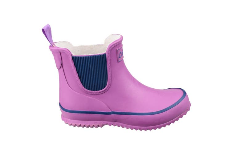 Cotswold Childrens/Kids Bushy Wellington Boots (Purple) (32 EUR)