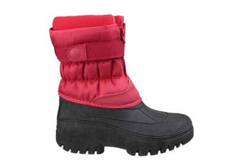 Cotswold Mens Chase Snow Boots (Red) (8 UK)