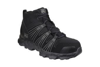 Timberland Pro Mens Powertrain Mid Patterned Safety Boots (Black) - UTFS4075