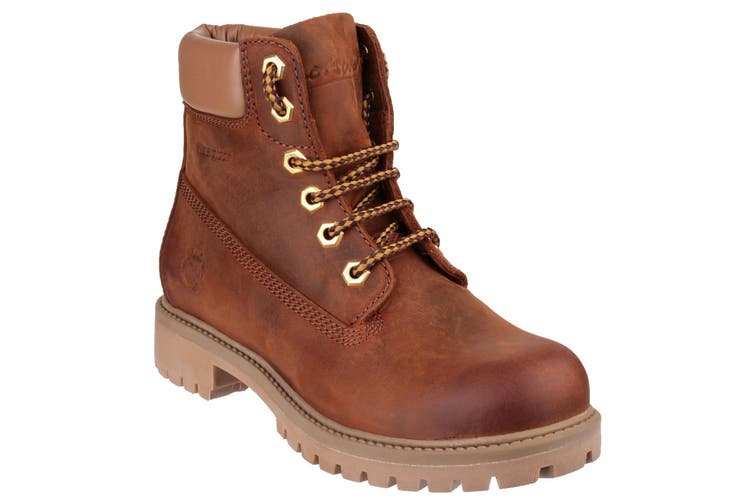 Cotswold Womens/Ladies Berrow Waterproof Lace Up Ankle Boots (Tan) (4 UK)