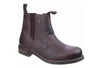 Cotswold Mens Worcester Moisture Wicking Pull On Boots (Brown) - UTFS4174