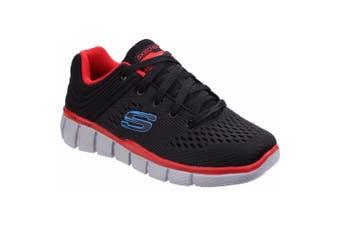 Skechers Childrens Boys Equaliser 2.0 Post Season Lace Up Trainers (Black/Red) (11.5 UK Junior)