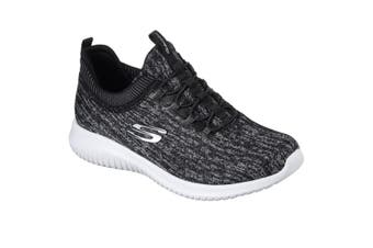 Skechers Womens/Ladies SK12831 Ultra Flex Bright Horizon Sports Shoes/Trainers (Black/Grey) (5 UK)