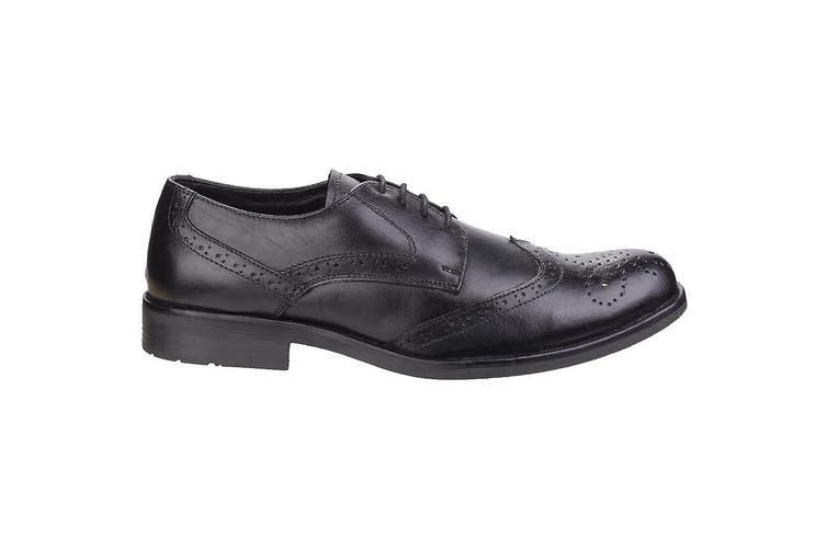 Fleet & Foster Mens Tom Lace Shoes (Black) (11 UK)