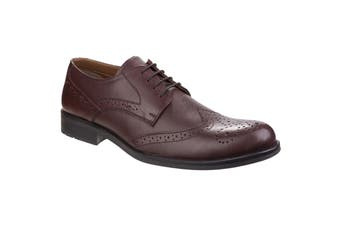 Fleet & Foster Mens Tom Lace Shoes (Brown) (6 UK)