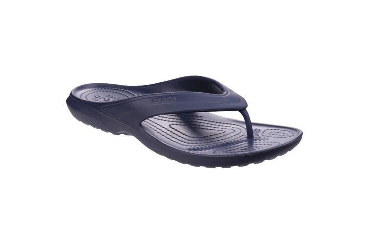 Crocs Unisex Classic Flip Flops (Navy) (8 UK)