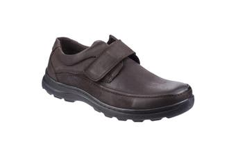 Fleet & Foster Mens Hurghada Leather Shoes (Brown) (9 UK)