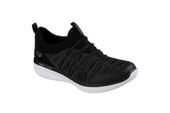 Skechers Womens/Ladies Synergy 2.0 Simply Chic Sports Shoes (Black/White) (3 UK)