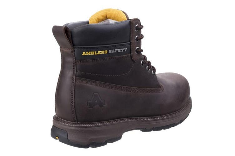 Amblers Safety Mens AS170 Lightweight Full Grain Leather Safety Boot (Brown) (9 UK)