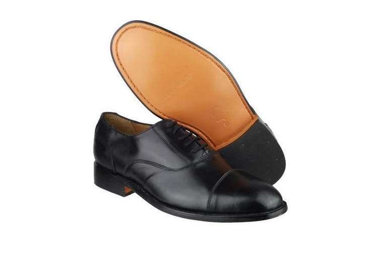 Amblers James Leather Soled Shoe / Mens Shoes (Black) (6 UK)