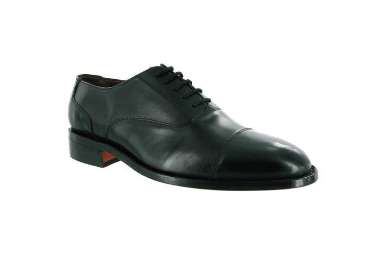 Amblers James Leather Soled Shoe / Mens Shoes (Black) (7 UK)