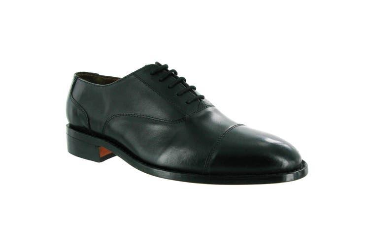 Amblers James Leather Soled Shoe / Mens Shoes (Black) (9 UK)