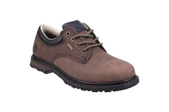 Cotswold Mens Stonesfield Leather Hiking Shoe (Crazyhorse) (9 UK)