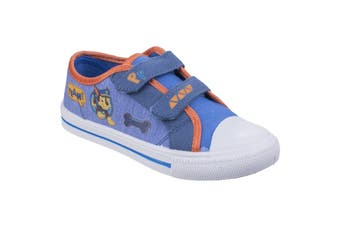 Leomil Paw Patrol Childrens/Kids Chase Touch Fastening Canvas Shoes (Blue) (11.5 Child UK)
