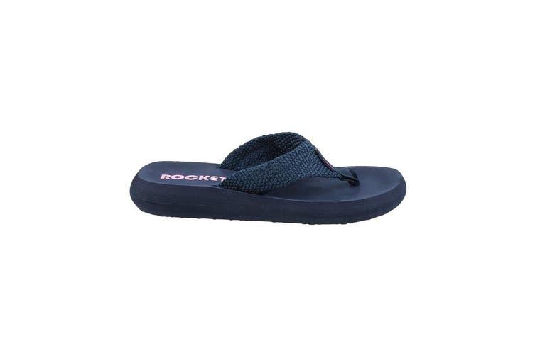 Rocket Dog Womens/Ladies Sunset Slip On Sandals (Navy) (7 UK)
