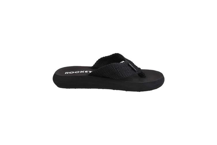 Rocket Dog Womens/Ladies Sunset Slip On Sandals (Black) (4 UK)
