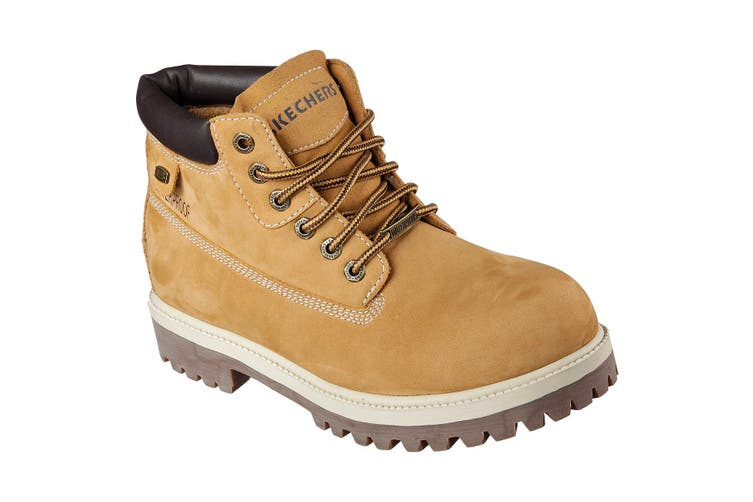 Skechers Mens Sargents Verdict Boots (Wheat) (10 UK)