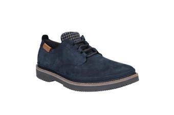 Hush Puppies Mens Bernard Convertible Oxford Shoe (Navy) (9)