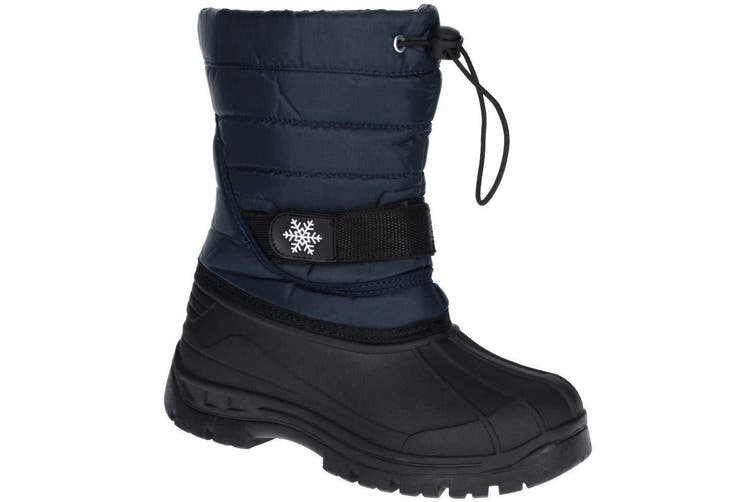 Cotswold Childrens/Kids Icicle Snow Boot (Navy) (1 UK)