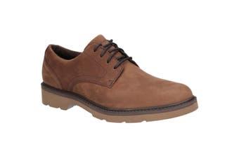 Rockport Mens Charlee Plain Toe Shoe (Tawny) (9 UK)