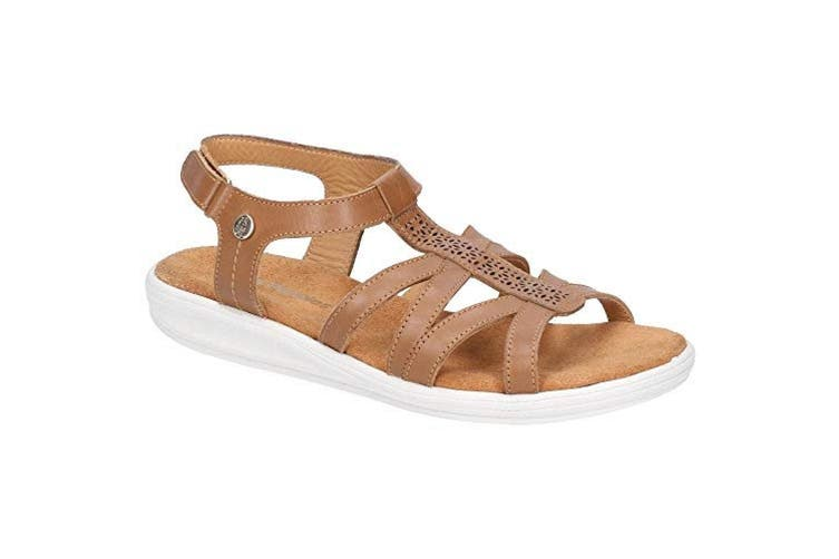Hush Puppies Womens/Ladies Callie Touch Fastening Sandals (Tan) (4 UK)
