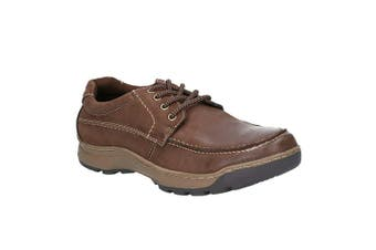 Hush Puppies Mens Tucker Lace Up Shoes (Brown) (9 UK)