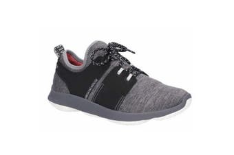 Hush Puppies Mens Geo Lace Up Trainer (Dark Grey) (8 UK)