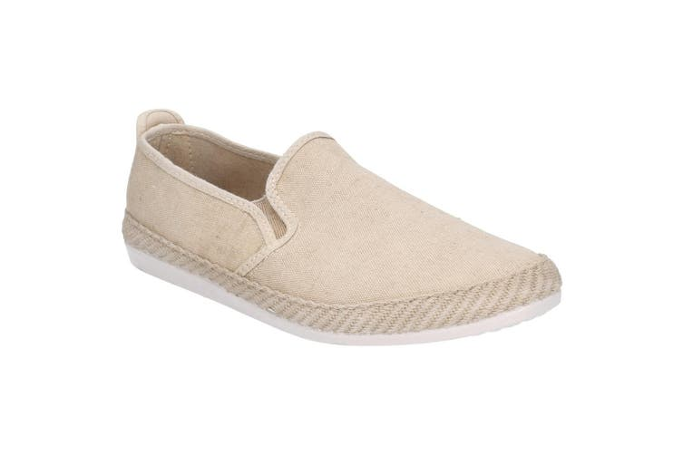 Flossy Mens Manso Slip On Shoe (Taupe) (9 UK)