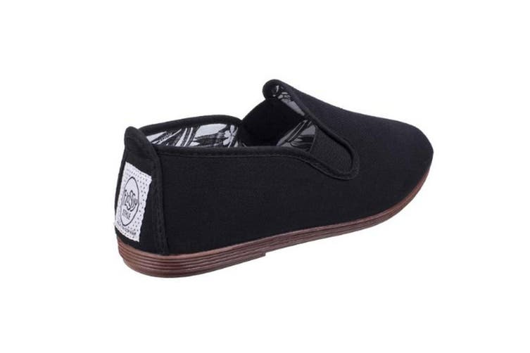 Flossy Womens/Ladies Arnedo Slip On Shoe (Black) (5.5 UK)