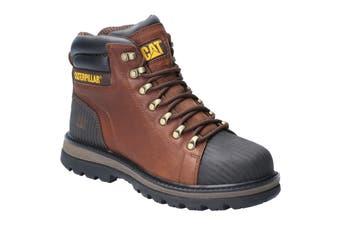 Caterpillar Mens Foxfield Lace Up Safety Boot (Oak) - UTFS6610