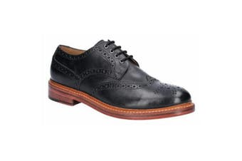 Cotswold Mens Quenington Goodyear Welt Lace Up Leather Shoe (Black) - UTFS6763