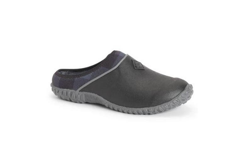 Muck Boots Womens/Ladies Muckster II Clogs (Black/Grey Plaid) (6 UK)