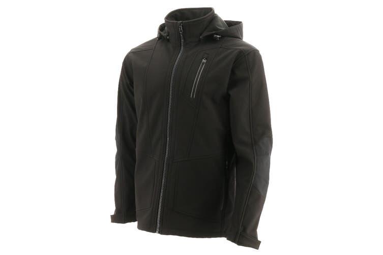 Caterpillar Mens Mercury Soft Shell Jacket (Black) (S)