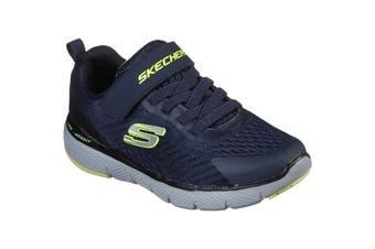 Skechers Boys Flex Advantage 3.0 Nuroblast Sports Trainer (Navy/Black) (12.5 UK Child)
