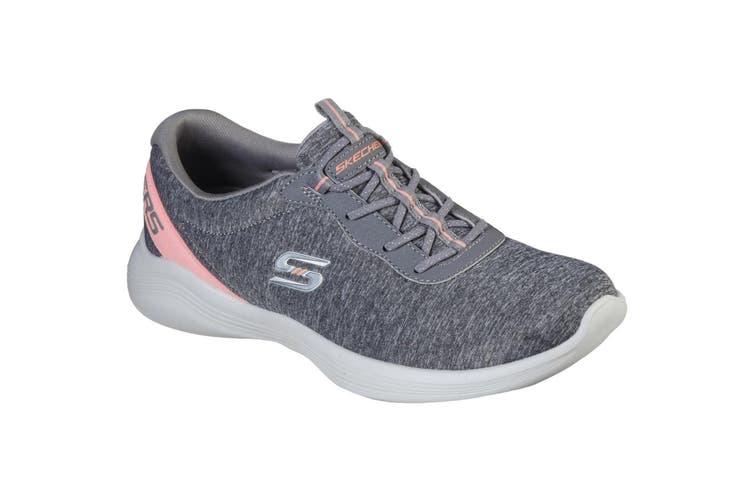 Skechers Womens/Ladies Envy Misstep Slip On Trainer (Grey) (4 UK)