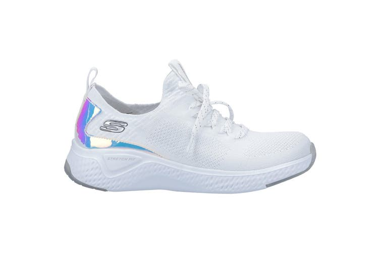 Skechers Womens/Ladies Solar Fuse Gravity Experience Trainer (White) (6 UK)