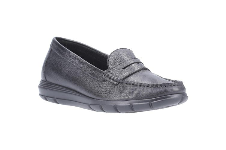 Hush Puppies Womens/Ladies Paige Leather Loafer (Black) (6 UK)