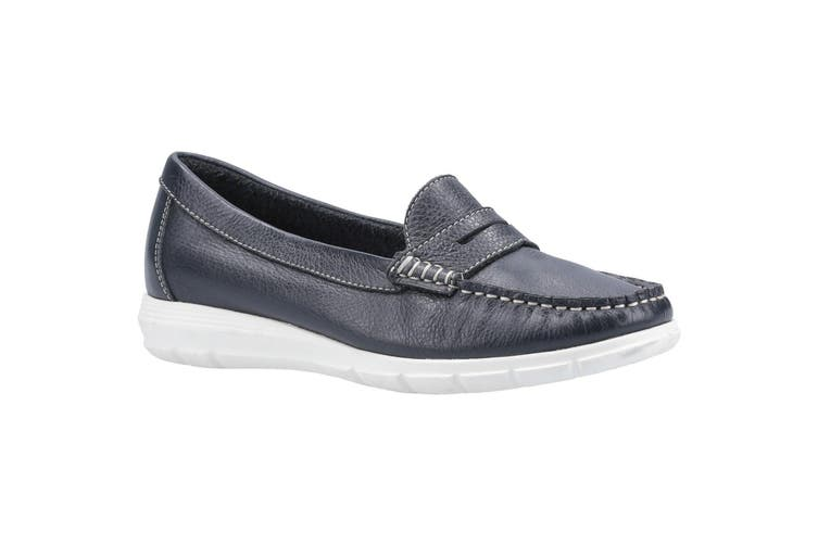 Hush Puppies Womens/Ladies Paige Leather Loafer (Navy) (5 UK)