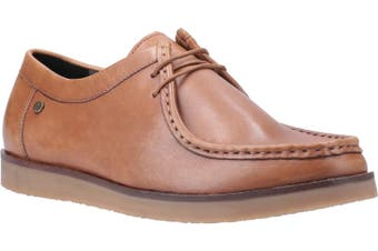 Hush Puppies Mens Will Wallabee Leather Shoe (Tan) (9 UK)